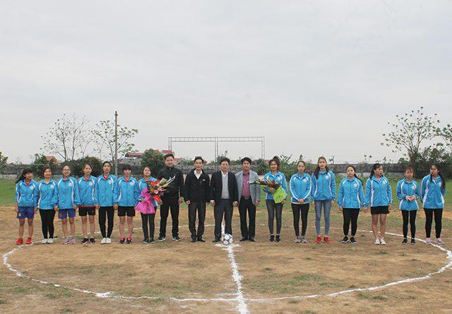 Khai mạc giải thể thao Chào mừng Quốc tế Phụ nữ 8-3 và Ngày thành lập Đoàn TNCS Hồ Chí Minh 26/3